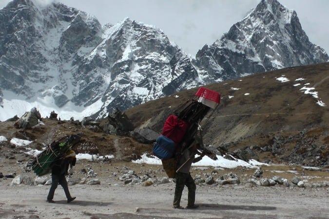 Porters - Everest Base Camp