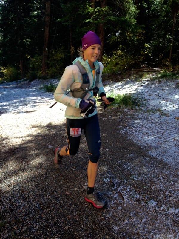 Stephanie Howe - 2013 UROC 100k - trees