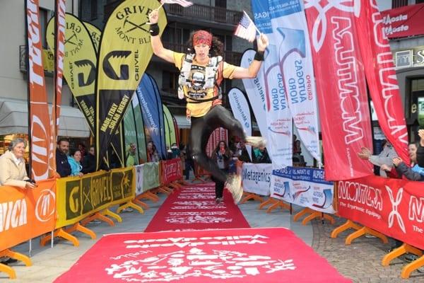 2013 TdG - Nick Hollon finish
