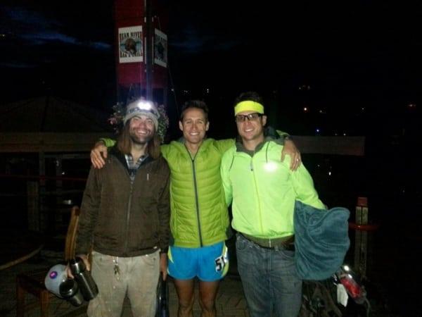 Jason Schlarb - 2013 Run Rabbit Run 100 - Amazing Team - Priceless Moment