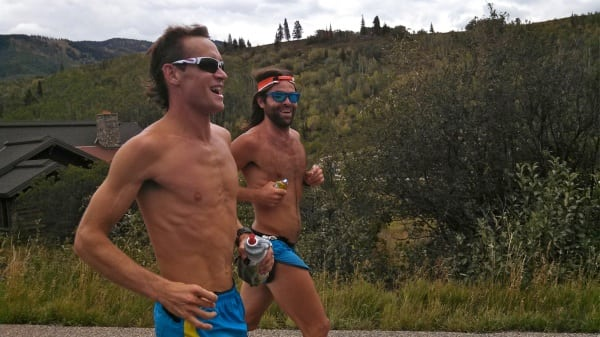 Jason Schlarb - 2013 Run Rabbit Run 100 - Kendrik and Jason