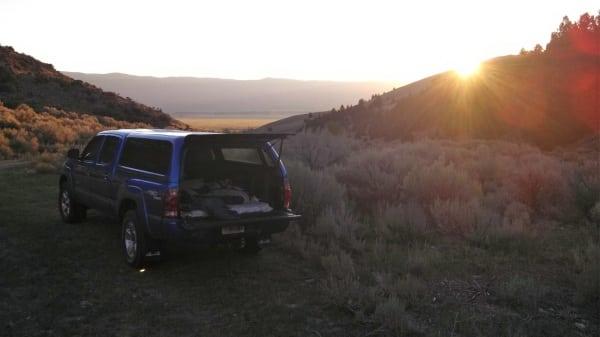 Jason Schlarb - 2013 Run Rabbit Run 100 - camping