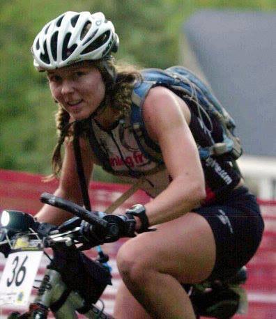 Tina Lewis - mountain biking