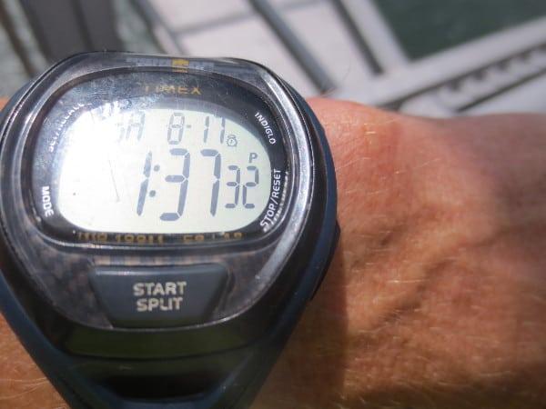 Finish watch