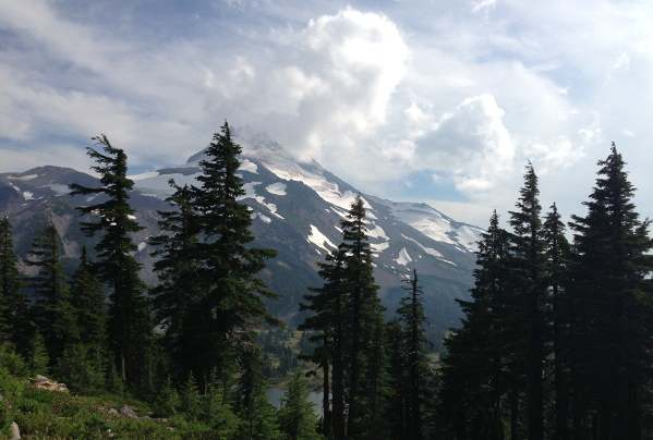 Mount Jefferson closer