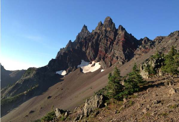 Crags near Mount Jefferson