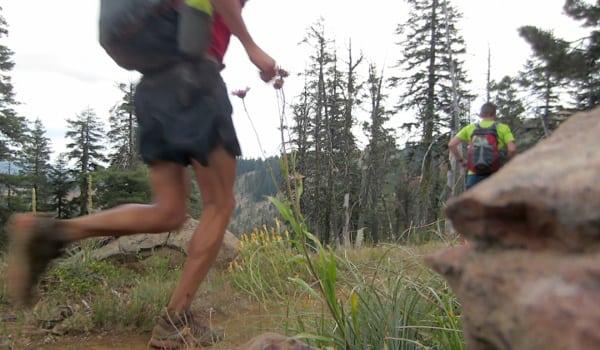 Brian and Yassine running