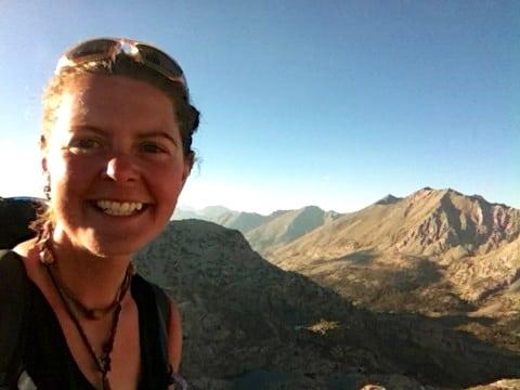 Heather Anderson - Anish - PCT FKT - Glenn Pass
