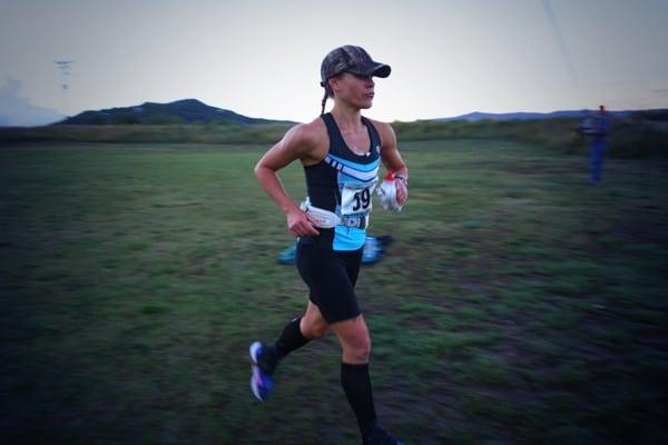 Michele Yates - 2013 Run Rabbit Run 100 - Olympian Hall