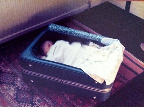 Adam Campbell - suitcase