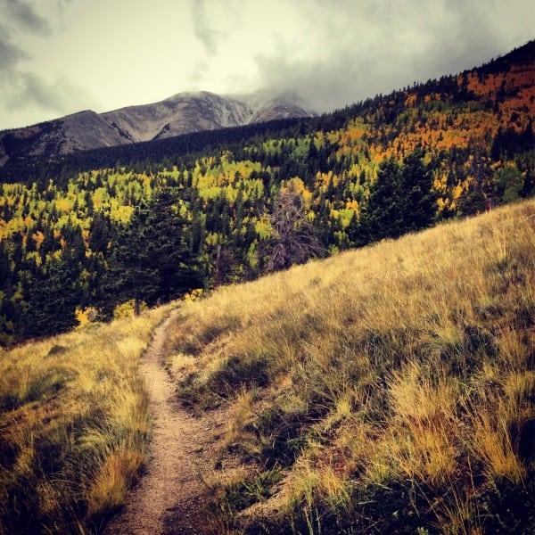 Ben Clark - Approach to Mount Princeton