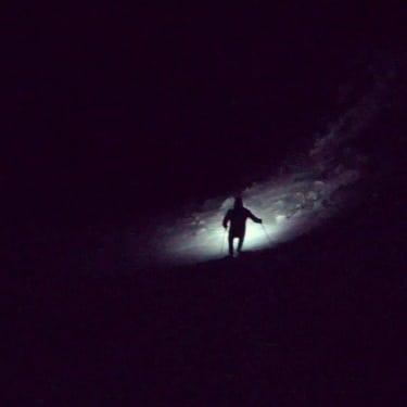 Erik Dalton pacing Ben Clack to Clohesy Lake