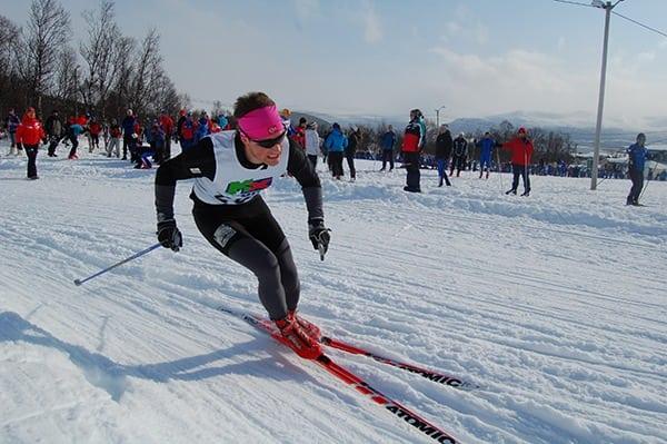 Eirik Haugsnes - Nordic ski race