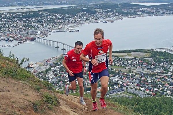 Eirik Haugsnes - setting a trail record