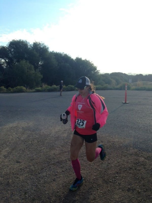 Abby finishing Wasatch