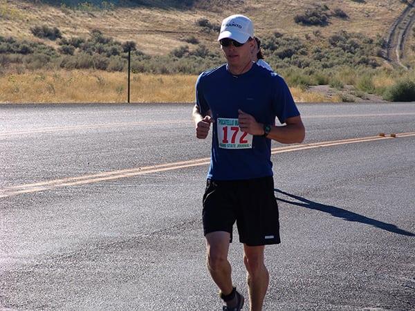 Luke Nelson - first marathon