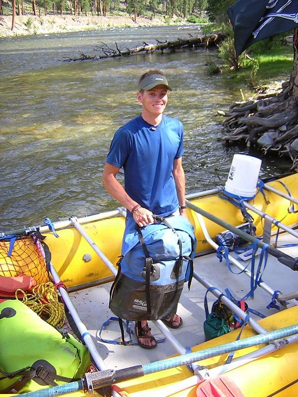 Luke Nelson - river guide