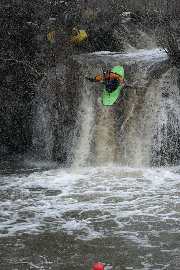 Luke Nelson - kayaking