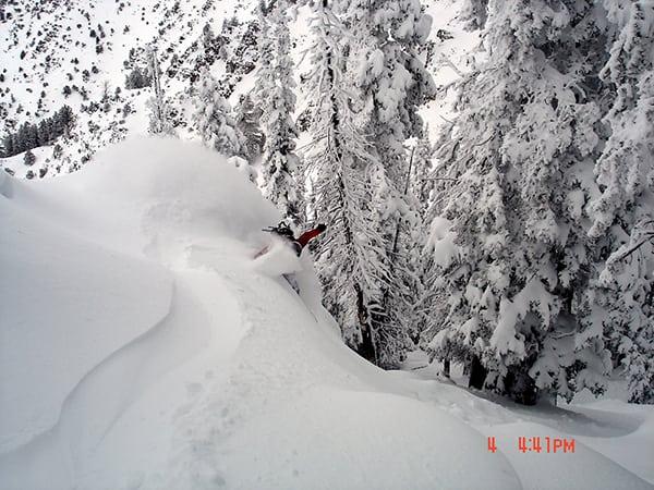 Luke Nelson - snowboarding