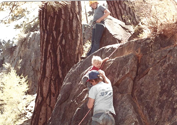 Luke Nelson - climbing debut
