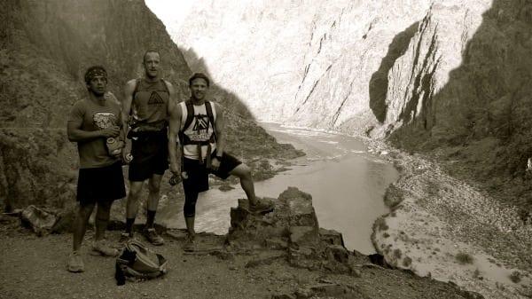 the trio - Colorado River - Grand Canyon