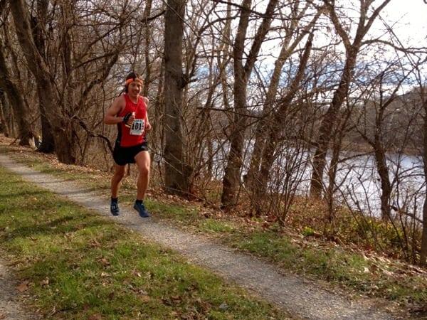 Zach Miller - 2013 JFK 50 Mile - tow path