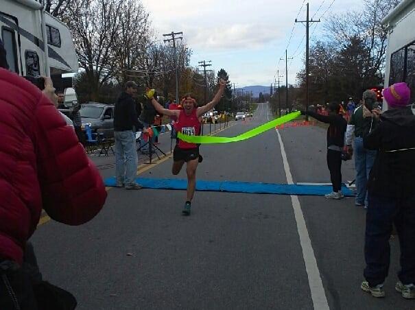 Zach Miller - 2013 JFK 50 mile - finish