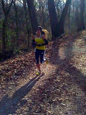 Emily Harrison - 2013 JFK 50 Mile - tow path
