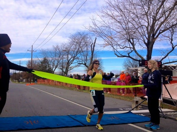 Emily Harrison - 2013 JFK 50 mile - win