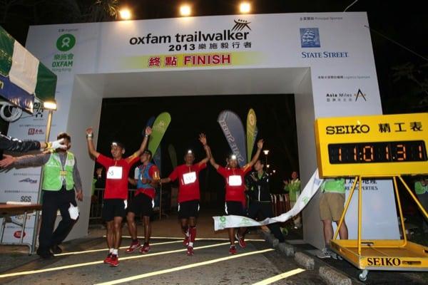 2013 Oxfam Trailwalker - Team Nepal second
