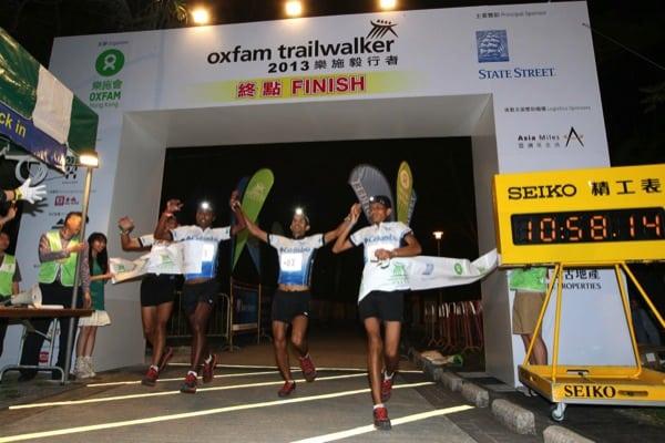 2013 Oxfam Trailwalker - Team Columbia S1 wins