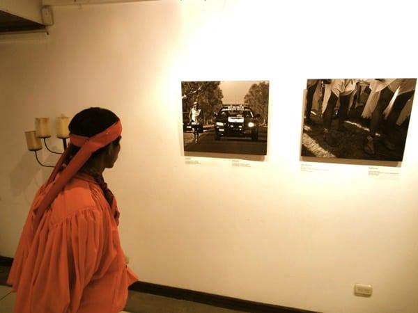 Tarahumara sees himself in galllery