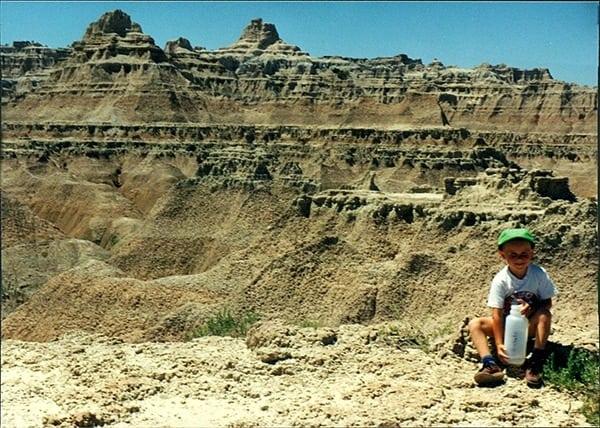 Alex Nichols - kid on a hike