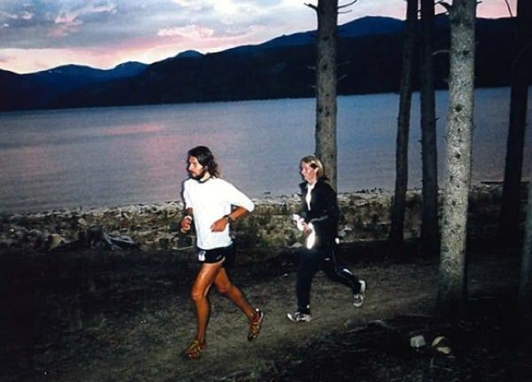 Alex Nichols - pacing Anton Krupicka - 2006 Leadville 100