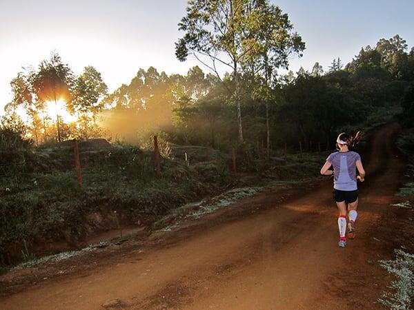 Catrin Jones - Running Rift Valley