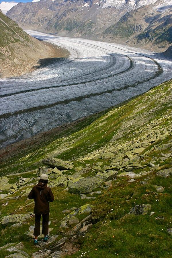 Catrin Jones - hiking - Switzerland