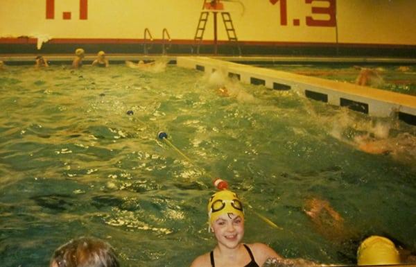 Catrin Jones - swimming