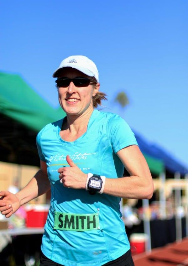 Pam Smith - Desert Solstice 2013 - thumbs up