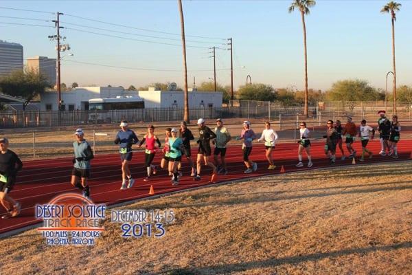 Pam Smith - Desert Solstice 2013 - start