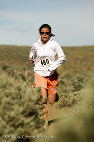 Stevie Kremer - early trail running