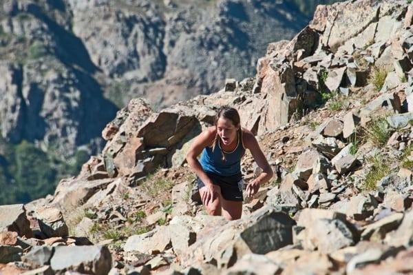 Jenn Shelton - Kendall Mountain Run