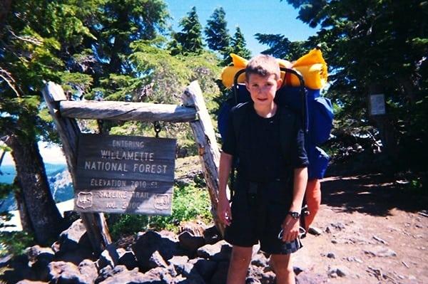 David Laney - hiking PCT