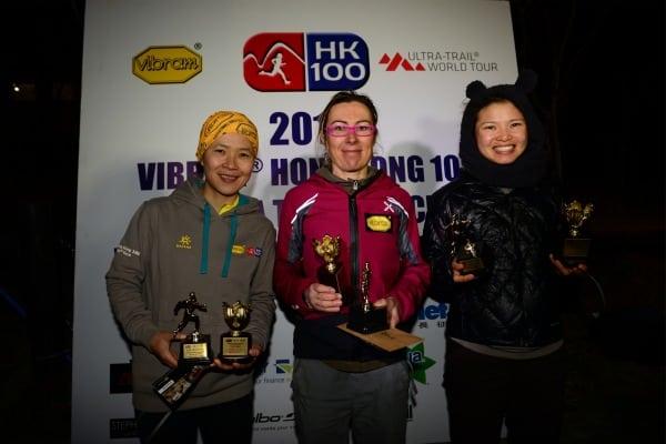 Francesca Canepa - Chow Pui-yan - Lo Ching-ling - 2014 Vibram Hong Kong 100k