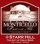 Starr Hill - Monticello Reserve Ale