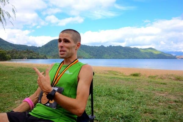 Vajin Armstrong - 2013 Tarawera 100k