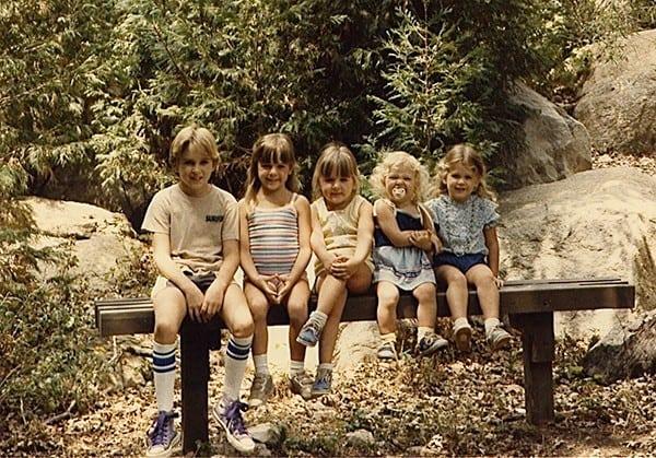 Sally McRae and siblings