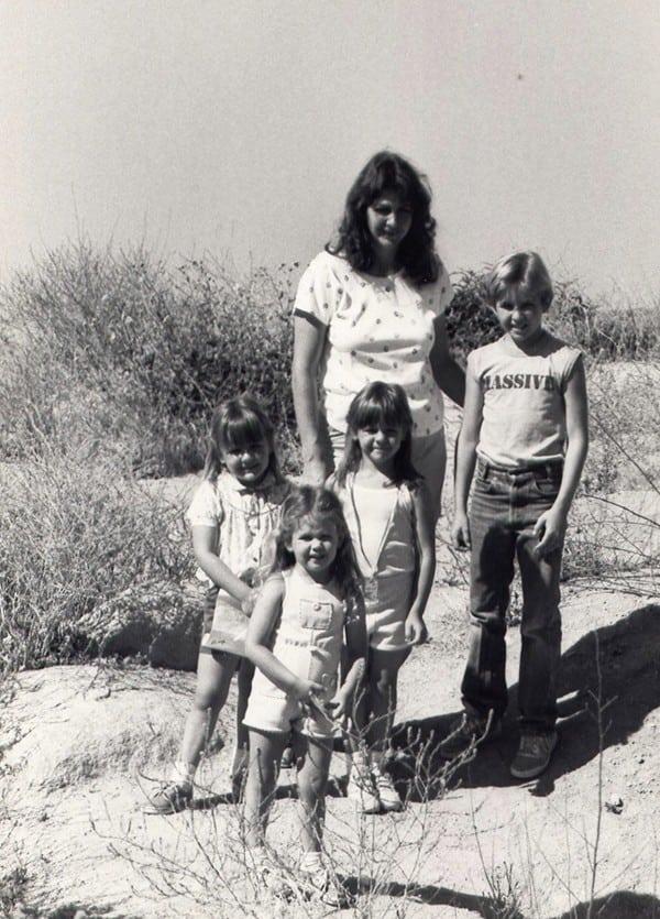 Sally McRae - on the trail long ago