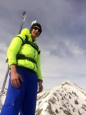 Paul Hamilton - skiing