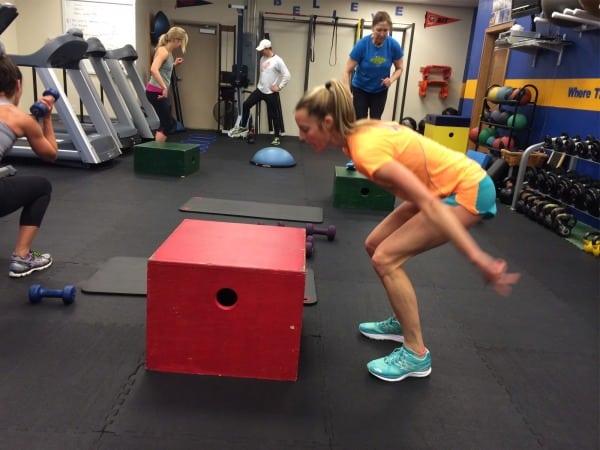 Stephanie Howe - box jump