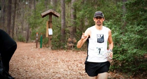Matt Laye - 2014 Rocky Raccoon 100 Mile